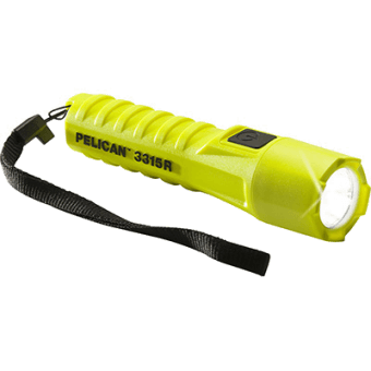 Side view image of the Pelican 3315R series certified safety torches